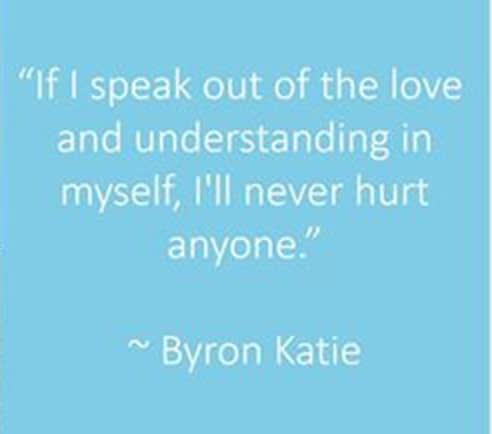 quote byron katie